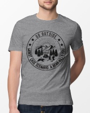 GRE GO OUTSIDE Classic T-Shirt lifestyle-mens-crewneck-front-13