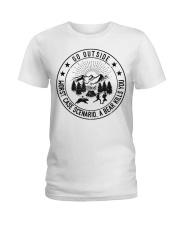GRE GO OUTSIDE Ladies T-Shirt thumbnail