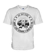 GRE GO OUTSIDE V-Neck T-Shirt thumbnail