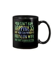 Marriage Happiness - Brazil - Wife - Flag - Dark Mug front