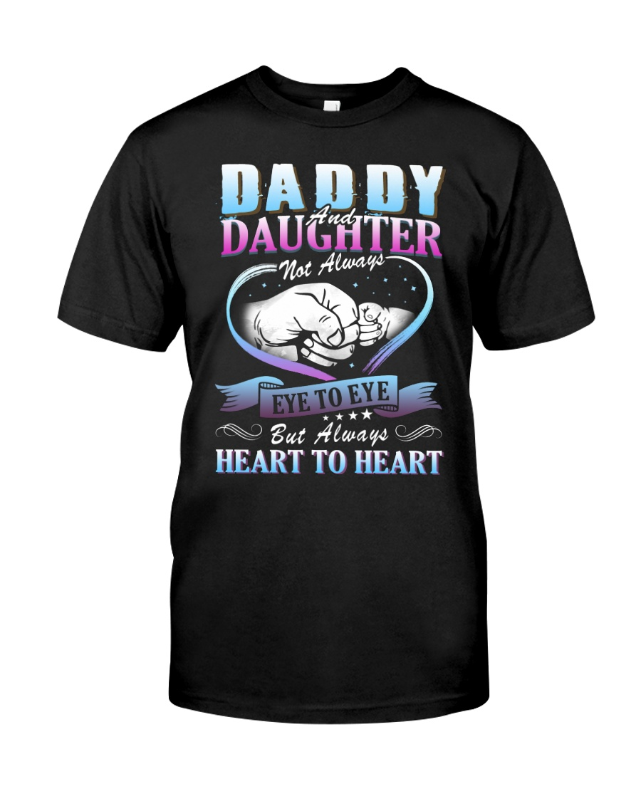 Daddy and Daughter Shirts Classic T-Shirt