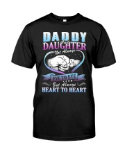 Daddy and Daughter Shirts Classic T-Shirt front