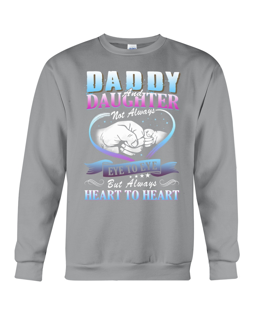 Daddy and Daughter Shirts Crewneck Sweatshirt