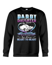 Daddy and Daughter Shirts Crewneck Sweatshirt thumbnail