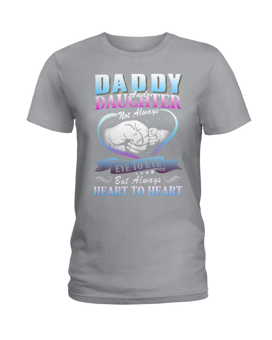 Daddy and Daughter Shirts Ladies T-Shirt