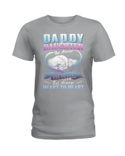 Daddy and Daughter Shirts Ladies T-Shirt front