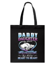 Daddy and Daughter Shirts Tote Bag thumbnail