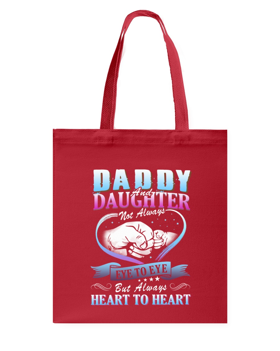 Daddy and Daughter Shirts Tote Bag