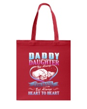 Daddy and Daughter Shirts Tote Bag front