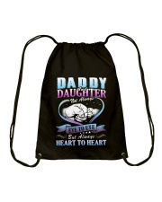 Daddy and Daughter Shirts Drawstring Bag thumbnail