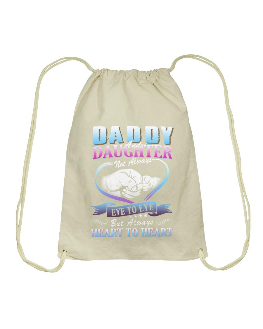 Daddy and Daughter Shirts Drawstring Bag