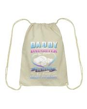 Daddy and Daughter Shirts Drawstring Bag front