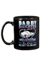 Daddy and Daughter Shirts Mug back