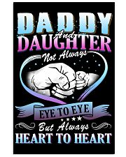 Daddy and Daughter Shirts Vertical Poster tile