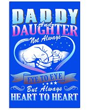 Daddy and Daughter Shirts 16x24 Poster front