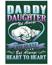 Daddy and Daughter Shirts 24x36 Poster front