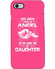 GOD GAVE ME MY DAUGHTER Phone Case i-phone-7-case
