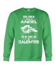 GOD GAVE ME MY DAUGHTER Crewneck Sweatshirt front