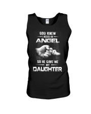 GOD GAVE ME MY DAUGHTER Unisex Tank front