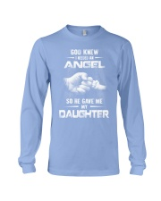 GOD GAVE ME MY DAUGHTER Long Sleeve Tee front
