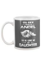 GOD GAVE ME MY DAUGHTER Mug back