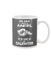GOD GAVE ME MY DAUGHTER Mug front