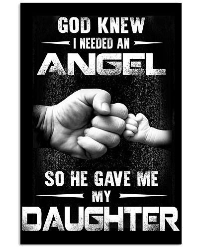 GOD GAVE ME MY DAUGHTER