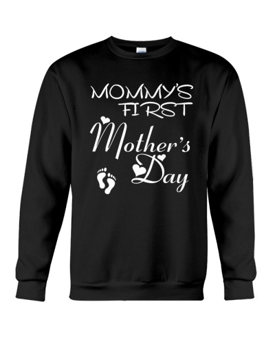 MOMMYS FIRST Mothers Day Shirt