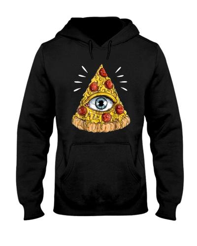 Shane Dawson All-Seeing Eye Pizza Shirt Hoodie