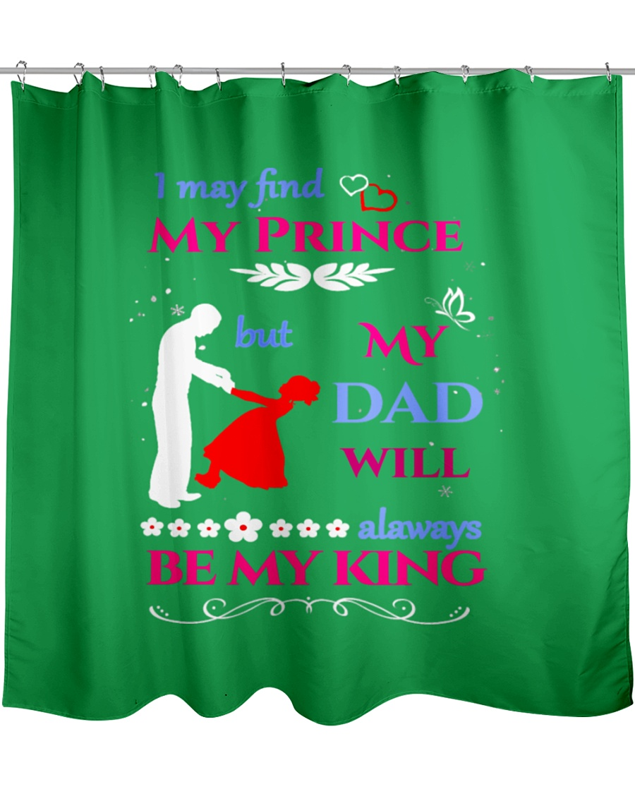 Cute Father Daughter Tee For Fathers Day-b6MRC Shower Curtain