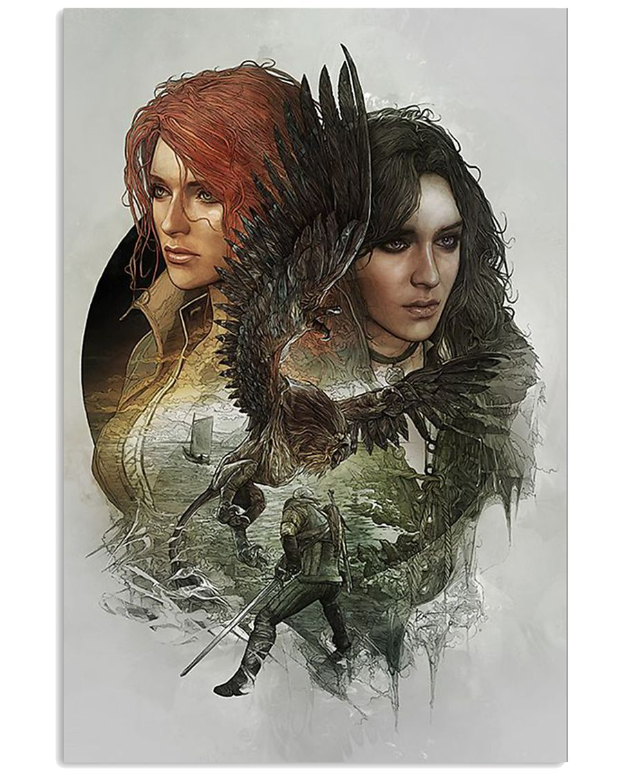 The Witcher poster 1 24x36 Poster