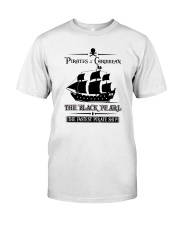 THE BLACK PEARL Classic T-Shirt front