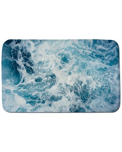 ocean bathmat