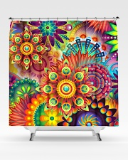 boho shower curtain Shower Curtain aos-shower-curtains-71x74-lifestyle-front-02