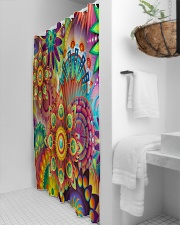 boho shower curtain Shower Curtain aos-shower-curtains-71x74-lifestyle-front-03