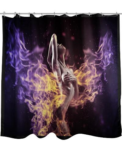 sexy women shower curtain