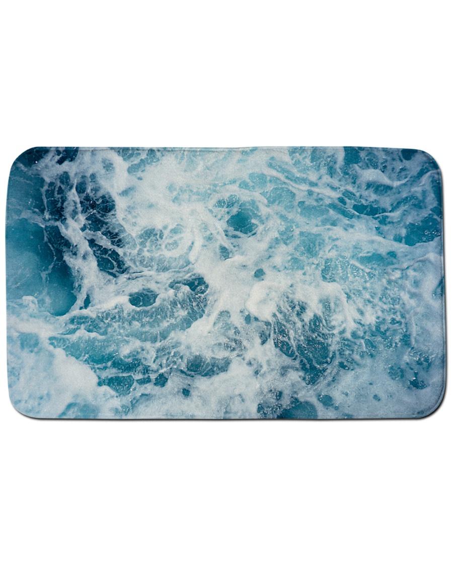 """ocean bathmat premium Bath Mat - 34"""" x 21"""""""