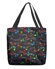 Colorful Music Notes All-over Tote thumbnail