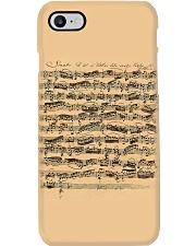 Bach Autograph Sonata No 1 Phone Case tile