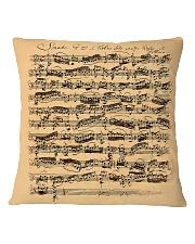 Bach Autograph Sonata No 1 Square Pillowcase thumbnail