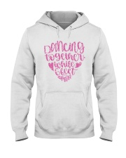 Dancing together while 6 feet apar Hooded Sweatshirt thumbnail