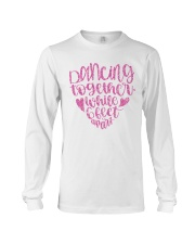 Dancing together while 6 feet apar Long Sleeve Tee thumbnail