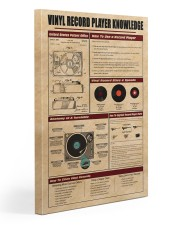Vinyl Knowledge Poster 2 20x30 Gallery Wrapped Canvas Prints thumbnail
