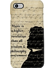 Beethoven Quote Art Phone Case tile