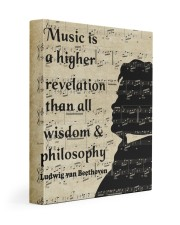Beethoven Quote Art 11x14 Gallery Wrapped Canvas Prints thumbnail