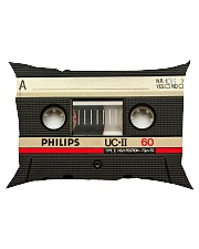 Vintage Cassette Tape 2 Phonecase Rectangular Pillowcase thumbnail