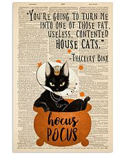 Thackery Binx black cat from Hocus Pocus 11x17 Poster front
