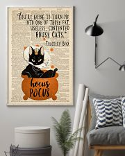 Thackery Binx black cat from Hocus Pocus 11x17 Poster lifestyle-poster-1