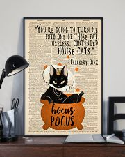 Thackery Binx black cat from Hocus Pocus 11x17 Poster lifestyle-poster-2