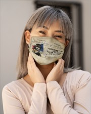 Nothing like a dream to create the future Les Cloth face mask aos-face-mask-lifestyle-17